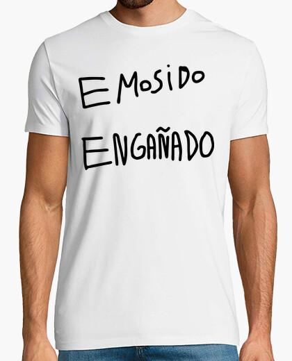 Camiseta emosido engañado