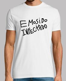 Emosido Infectado - Hombre, manga corta, blanco, calidad extra