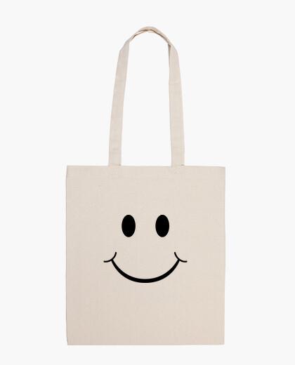 Borsa emoticon felice