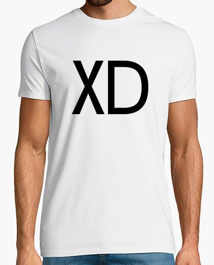 Camiseta Emoticón XD