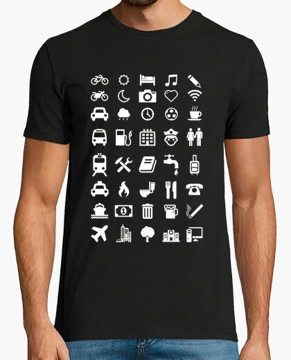 Tee-shirt Emoticônes voyageur