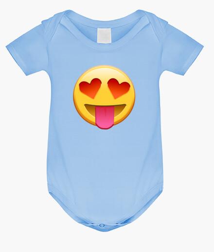 Ropa infantil Emoticono enamorado Bebe