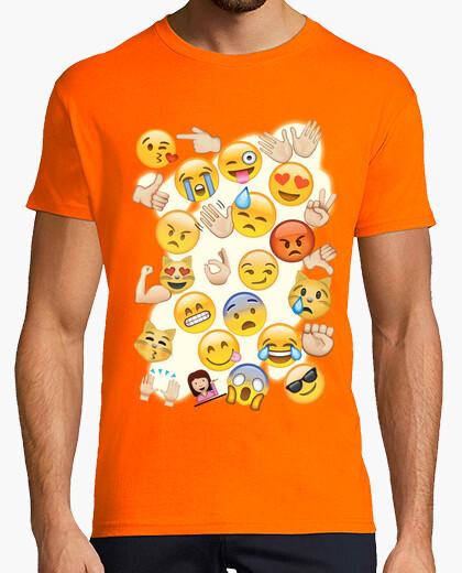 Camiseta Emoticonos Mix chico