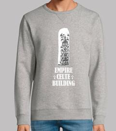 empire celte building - sudadera ligera hombre