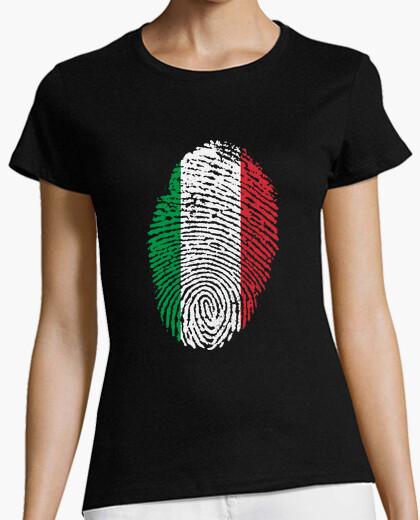 Tee-shirt empreinte italie