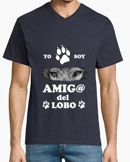 Tee-shirt empreinte loup
