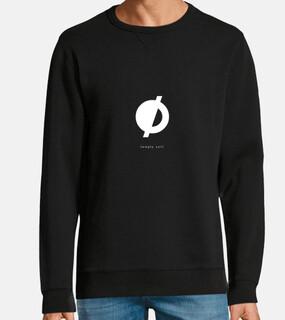 {empty set} - black sweatshirt