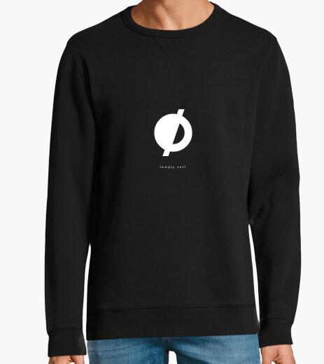 Sudadera {empty set} — black sweatshirt