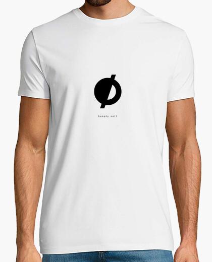 Camiseta {empty set} — white t-shirt