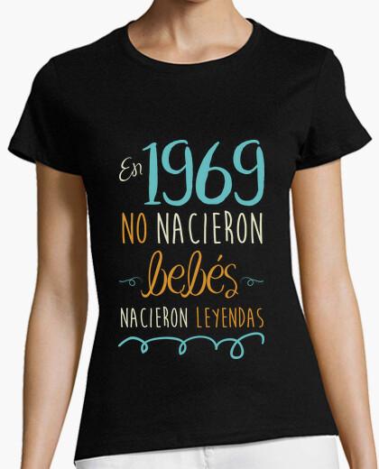 Camiseta En 1969 No Nacieron Bebés, Nacieron Leyendas