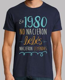en 1980, aucun bébé n'est né, aucune légende n'est née