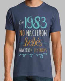 En 1983 No Nacieron Bebés, Nacieron Leyendas, 37 años