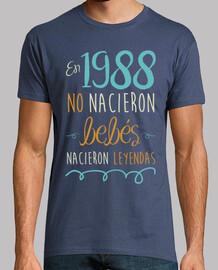 En 1988 No Nacieron Bebés, Nacieron Leyendas, 30 años