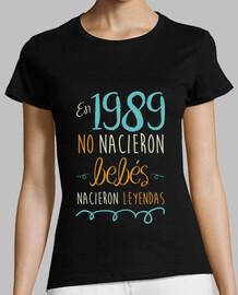 En 1989 No Nacieron Bebés, Nacieron Leyendas