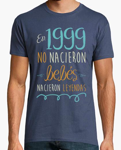 Camiseta En 1999 No Nacieron Bebés, Nacieron Leyendas, 21 años
