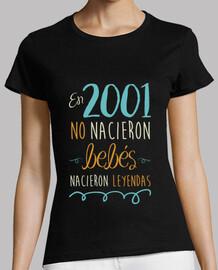 en 2001, aucun bébé n'est né, aucune légende n'est née