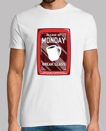 en cas de lundi t-shirt