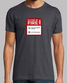 En caso de fuego