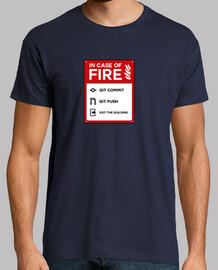 En caso de fuego Git