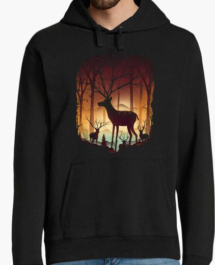 Jersey en el bosque de ciervos