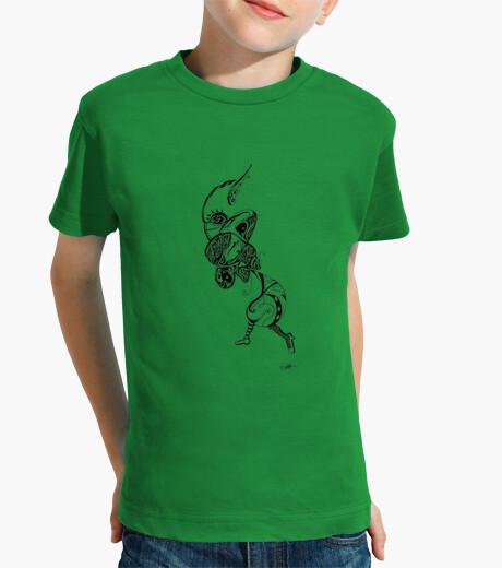 Ropa infantil en el camino a la luna. camiseta de niño