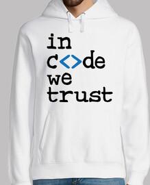 en el código que confiamos - geek