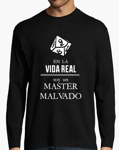 Camiseta En la Vida Real soy un Master Malvado