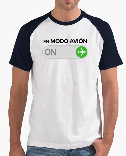 Tee-shirt en mode avion