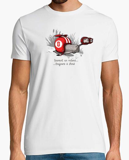 Tee-shirt en retard