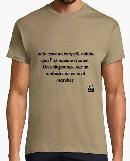Camiseta en un malentendido - el bronceado
