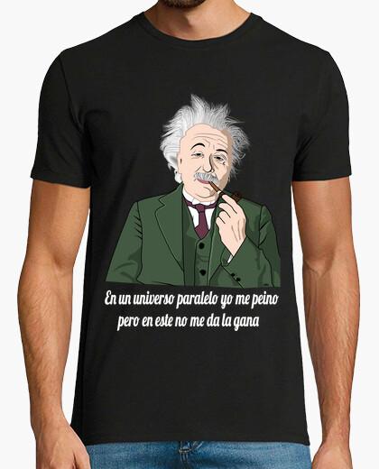 Camiseta En un universo paralelo yo me peino