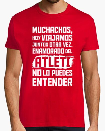 Camiseta Enamorado del Atleti No Lo Puedes Entender (Hombre)
