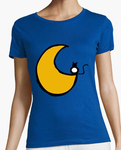 Tee-shirt enamorao le chat lune