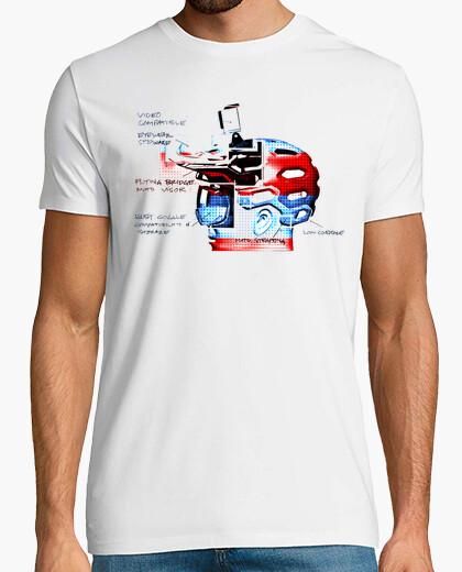 T-shirt enduro rider