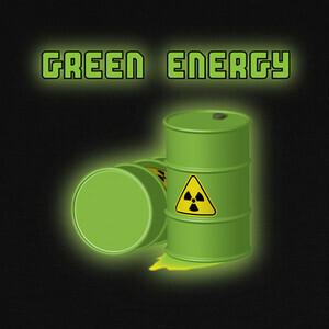 T-shirt energía verde