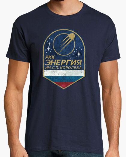 Energy russia space emblem t-shirt