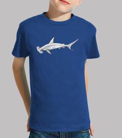 enfant chemise requin marteau