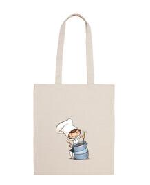 enfant cuisinier