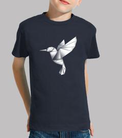 enfants colibri origami