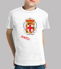Enfants t-shirt de bouclier province d'almería