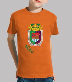 Enfants t-shirt de bouclier province de málaga