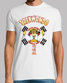 enfants taekwondo tigre