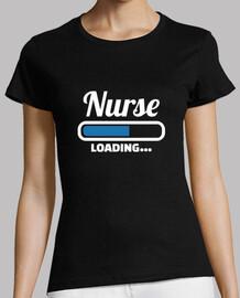 enfermera cargando