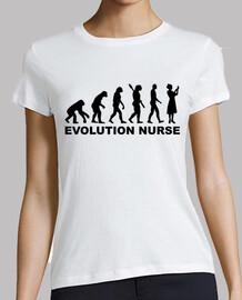 enfermera de la evolución