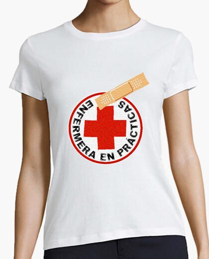 Camiseta ENFERMERA EN PRACTICAS - nº 629424 - Camisetas latostadora 7a95444e04c