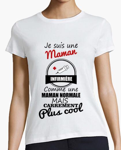 Camiseta enfermera mamá