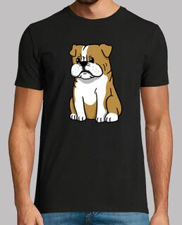 Englisch Bulldogge Hund Cartoon