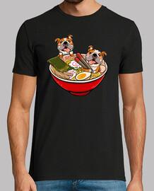 englisch Bulldogge Ramen Hund