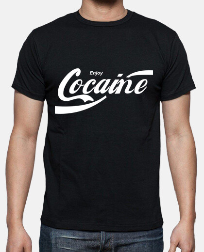 Camisetas Enjoy Cocaine