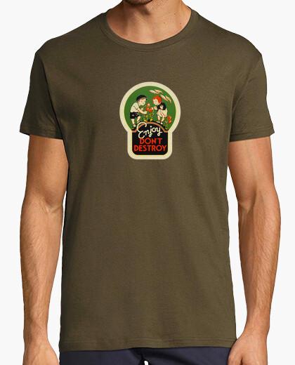 Camiseta Enjoy, don't destroy